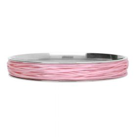 Elastoma / jewellery elastic / 0.5x0.8mm / pink / 5m