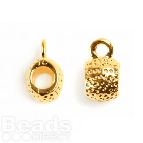 Gold Plated Charm Carrier 5mm Pk1