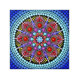 Diamond painting / mosaic 5d / mandala / 20x20cm / 1 pc
