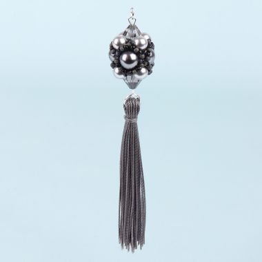 Beaded Tassel Pendant | Take a Make Break