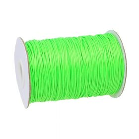 Coated twine / 1.0mm / lime / 160m