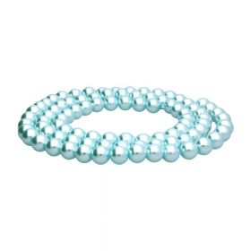 SeaStar™ / glass pearls / round / 10mm / ice blue / 90pcs