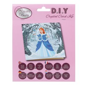 Beads Direct 'Enchanted Princess' Crystal Card Kit