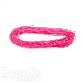 Satin Cord 0.5mm Fuchsia 5m