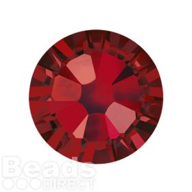2088 Swarovski Crystal Flat Backs Non HF 7mm SS34 Siam F Pk144