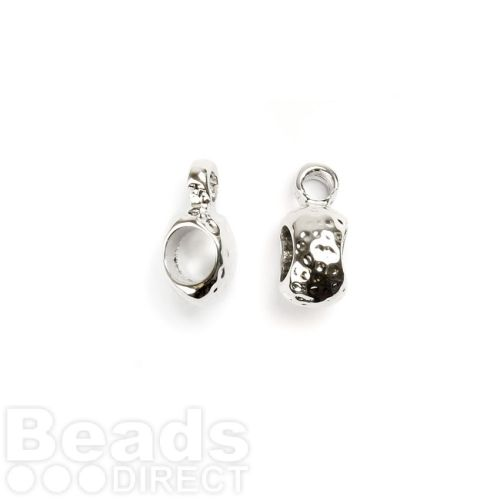 Titanium Plated Charm Carrier Small 3mm Pk2