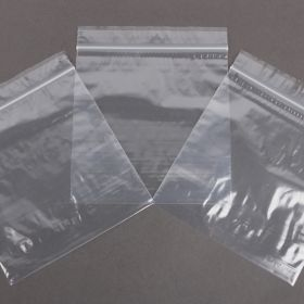 Clear Polythene Self Seal Bags 140x140mm Pk100