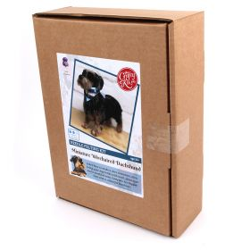 The Crafty Kit Company Miniature Wire-haired Dachshund Needle Felting Kit