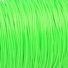 Coated twine / 1.5mm / lime / 1m