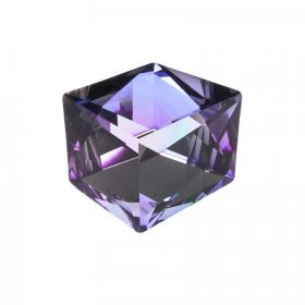 4933 Swarovski Crystal Dice Fancy Stone 27mm Crystal Purple Z CALVSI F Pk1