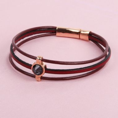 Mulberry Leather Bracelet