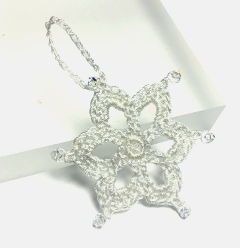 Mini Crystal Snowflake