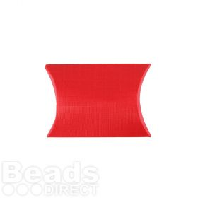 Red Pillow Small Gift Box 70x70x25mm Pk1