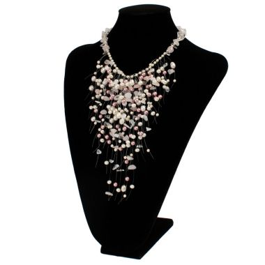 Pearl Waterfall Necklace