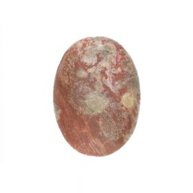 Tropical jasper / cabochon / oval / 18x25x7mm / 1pcs