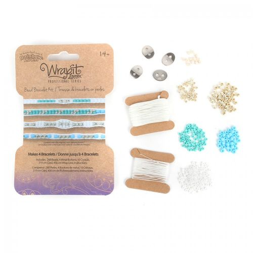 X-Wrapit Loom Tropical Refill Kit - Makes 4 Bracelets