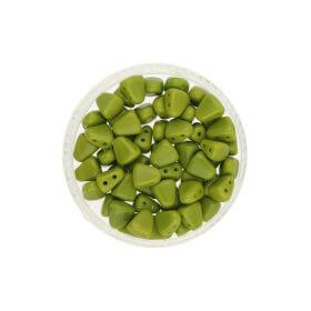 NIB-BIT™ / 6x5mm / Opaque / Olivine / 5g / ~27pcs