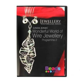 Wonderful World of Wire Jewellery 2 DVD by Linda Jones