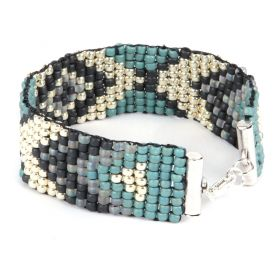 X Blue Bracelet Kit with Loom