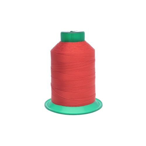 Thread / 100% polyester / 0.6mm / red / 500m