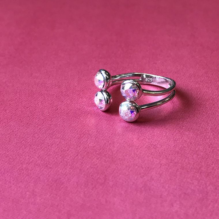 Crystal Sparkle Ring | Mini-Make
