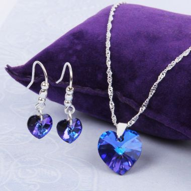Cosmic Love Heart Jewellery