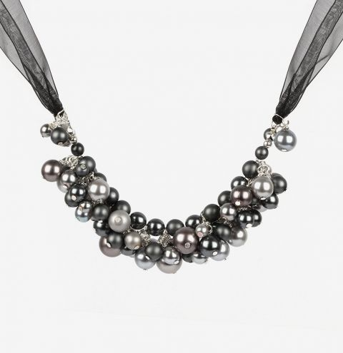 Pearl Cluster Necklace | Take a Make Break