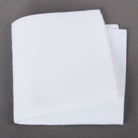 "White Felt Square Beading Foundation 9""x9"" Pk1"
