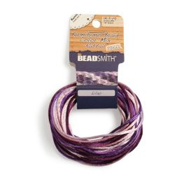 Rattail Lilac 2mm 4 Colours 4x3yds