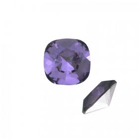 4470 Swarovski Crystal Square Fancy 10mm Tanzanite F Pk1