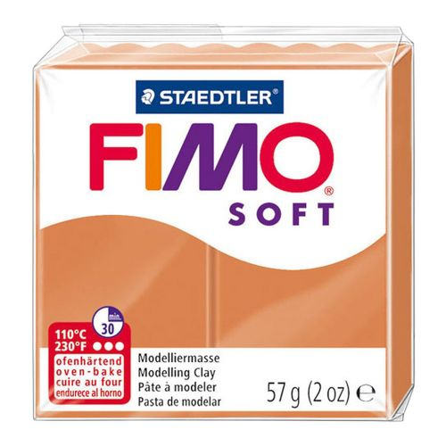 Staedtler Fimo Soft Polymer Clay Cognac 56g (1.97oz)
