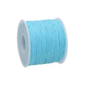 Macramé™ / Macramé cord / nylon / 0.6mm / light blue / 135m