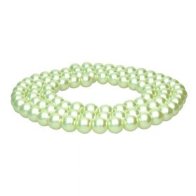 SeaStar™ / glass pearls / round / 10mm / pistachio / 90pcs