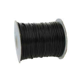 Coated twine / 2.0mm / black / 80m