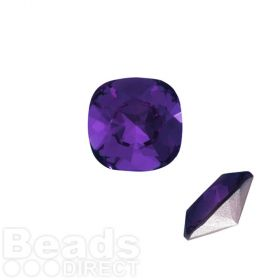4470 Swarovski Crystal Square Fancy Stone 12mm Purple Velvet F Pk1