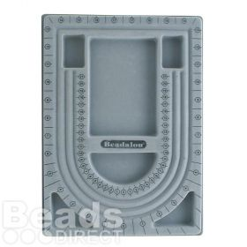Beadalon Bead Design Board 22.5x31cm Grey Pk1