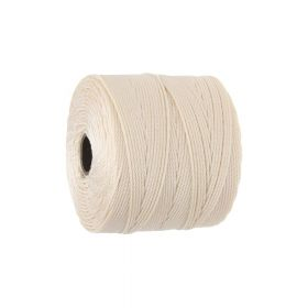 BEADSMITH ™ / thread SuperLon Fine / nylon / Tex 135 / Natural / 0.5mm / 108m