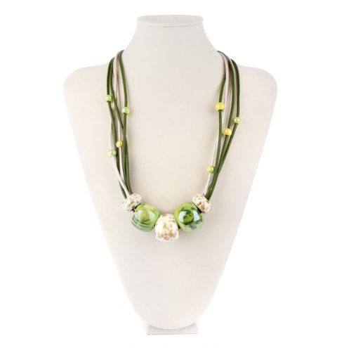 Coconut Lime Necklace