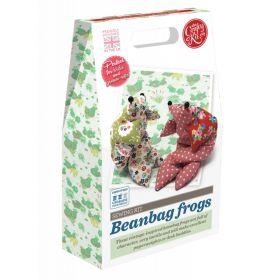 The Crafty Kit Company Beanbag Frog Sewing Kit