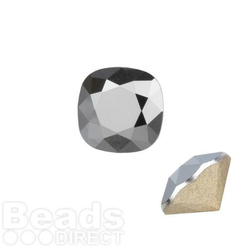 4470 Swarovski Crystal Square Fancy Stone 12mm Crystal LightChrome F Pk1