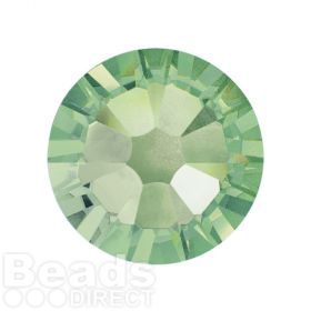 2088 Swarovski Crystal Flat Backs Non HF 7mm SS34 Chrysolite F Pk144