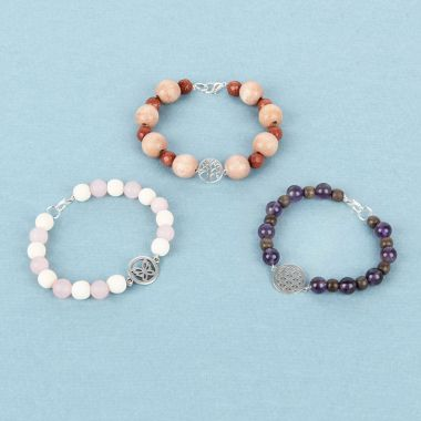 Gemstone Bracelet Collection