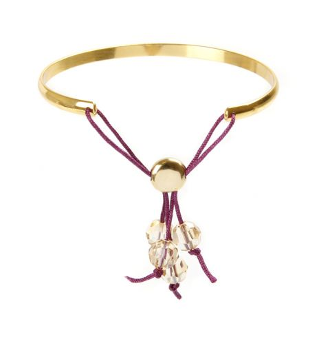 Golden Shadow Moda Bangle