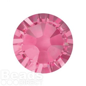 2088 Swarovski Crystal Flat Backs Non HF 7mm SS34 Rose F Pk144
