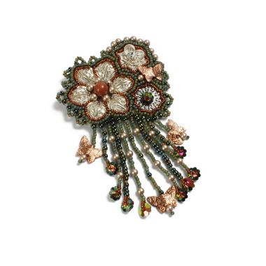 Floral Treasures Brooch p.7