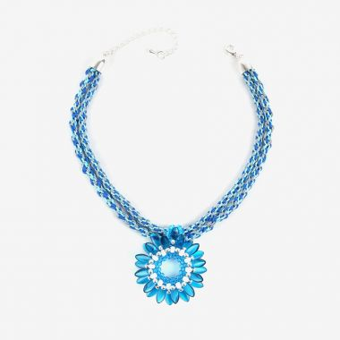 Dahlia Kumihimo Necklace | Take a Make Break