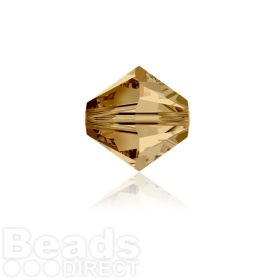 5328 Swarovski Crystal Bicones 4mm Light Colorado Topaz Pk1440