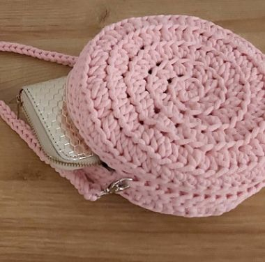 How to make a crochet handbag - A DIY round cord handbag
