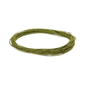 Satin Cord 0.5mm Olive Green 5m