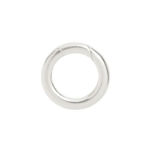 X- Sterling Silver 925 Small Lever Ring Clasp 14mm Pk1